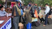 Ratusan Santri Kembali ke Pondok Pesantren Gontor