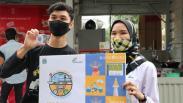 Kartu JakCard Edisi Khusus HUT Jakarta Dibagikan kepada Pengunjung Thamrin 10
