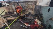 5 Rumah Dinas TNI AD Kodam IX Udayana Ludes Terbakar