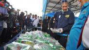 BNN Sita 40 Kg Sabu yang Akan Diedarkan ke Sumatera dan Jawa