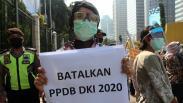Puluhan Orang Tua Murid Unjuk Rasa Tolak PPDB DKI 2020 di Kemendikbud