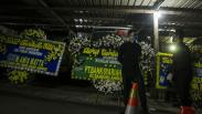 Suasana Rumah Duka Pendiri PKS Hilmi Aminuddin