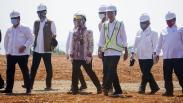 Presiden Jokowi Tinjau Kesiapan Pengembangan Kawasan Industri Terpadu Batang