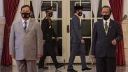 HUT ke-74 Bhayangkara Digelar secara Sederhana dan Virtual di Istana Negara