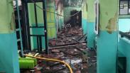 Ruang Kelas SMAN 100 Cipinang Ludes Terbakar