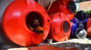 Relawan Covid-19 Ini Isolasi Mandiri di Tangki Air sejak Dua Bulan