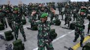 474 Prajurit TNI Tiba di Makassar usai Jaga Perbatasan RI-Papua Nugini
