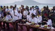 3 Menteri Kunjungi Menara Siger Lampung, Bahas Wisata Terpadu Bakauheni