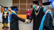 Unik, Robot Gantikan 2.561 Peserta Wisuda Universitas Diponegoro