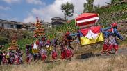 Petani Tembakau Temanggung Gelar Tradisi Grebeg Lamuk Legok