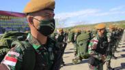Prajurit TNI Pengganti Satgas Perbatasan RI-Timor Leste Tiba di NTT