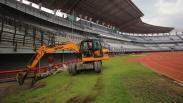 Persiapan Piala Dunia U-20, Rumput Stadion Gelora Bung Tomo Diperbaiki