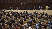 Suasana Sidang Tahunan MPR, Jumlah Anggota DPR dan Tamu Undangan Dibatasi