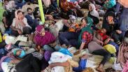 296 Imigran Etnis Rohingya Terdampar di Perairan Aceh