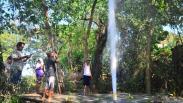 Heboh, Air Bercampur Pasir dan Gas Menyembur Setinggi 30 Meter di Grobogan