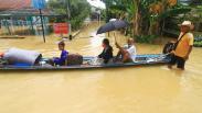 Banjir Rendam Kota Putussibau Kalbar, Aktivitas Warga Lumpuh