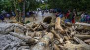 Puluhan Rumah Rusak Diterjang Banjir Bandang di Kabupaten Sigi