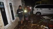 Banjir Bandang di Desa Mekarsari Cicurug, 2 Warga Hilang Terseret Arus