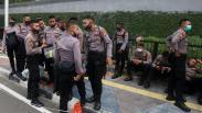 Kedubes Prancis Dijaga Ketat, Kawat Berduri Dipasang Polisi