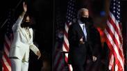 Foto Joe Biden dan Kamala Harris Pidato Kemenangan Pilpres AS 2020