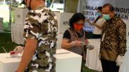 Simulasi Pemungutan Suara Pilkada dengan Protokol Kesehatan Ketat di Manado