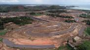 Penampakan dari Udara Progres Pembangunan Sirkuit Mandalika Lombok