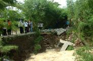 Tanggul Sungai Jebol, Ratusan Rumah Desa Bojong Brebes Terendam Banjir