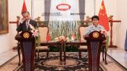 Tingkatkan Kerja Sama, Menlu China Wang Yi Bertemu Menlu Retno Marsudi