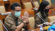 Sandiaga Uno dan Angela Tanoesoedibjo Bahas Program Unggulan Kemenparekraf bersama DPR