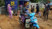 Kebutuhan Air Pengungsi Gempa Sulawesi Barat Masih Tercukupi