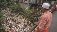 Kali Cijantung Cimanggis Tertutup Sampah Jadi Penyebab Banjir Depok