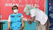 Gubernur Sulsel Disuntik Vaksin Covid-19, Minta Masyarakat Ikuti Langkahnya