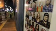 Potret Wajah Ribuan Warga Eropa Hiasi Trotoar Kedubes Jerman di Jakarta