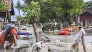 Begini Kondisi Desa di Pebayuran Hancur akibat Tanggul Sungai Citarum Jebol