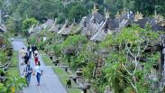 Menparekraf Sandiaga Uno Kunjungi Desa Wisata Penglipuran Bali