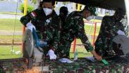 Puluhan Senjata Api Milik Warga Eks Timor Timur Dimusnahkan