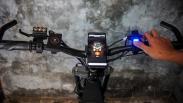 Pelajar Bandung Ciptakan Sepeda Listrik, Hidupkan Mesin dengan Sidik Jari