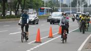 Langgar Jalur Khusus, Pesepeda Terancam Sanksi 15 Hari Kurungan