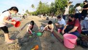 Libur Panjang, Pantai Ancol Ramai Pengunjung