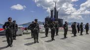 Penampakan Kapal Selam KRI Alugoro-405, Tambah Kekuatan TNI di Koarmada II