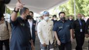 Erick Thohir bersama Ridwan Kamil Tinjau Sentra Vaksinasi Kementerian BUMN