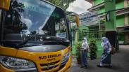 Pemprov DKI Jakarta Siapkan 50 Bus Sekolah Gratis untuk Antar Jemput Siswa