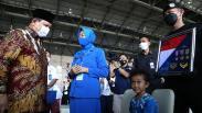 Dipimpin Prabowo, Upacara Kenaikan Pangkat Awak KRI Nanggala Diwarnai Isak Tangis