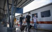 Begini Suasana Mudik Awal di Stasiun Kertapati Palembang