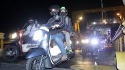 Pemudik dengan Kendaraan Roda Dua Dominasi Pelabuhan Ketapang