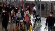 Arus Balik Lebaran, Stasiun Pasar Senen Dipadati Pemudik