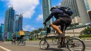 Pesepeda Keluar Jalur Khusus, Siapkan Denda Tilang Rp100.000