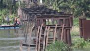 Penampakan Jembatan Bersejarah Peninggalan Belanda Usia 123 Tahun Dibongkar