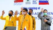 Golkar Kerja Sama dengan Partai Presiden Vladimir Putin, United Russia Party