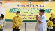 Partai Golkar Salurkan 27 Hewan Kurban dan 3.000 Paket Sembako